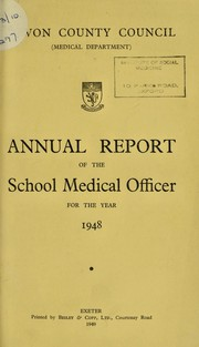 Cover of: [Report 1948]
