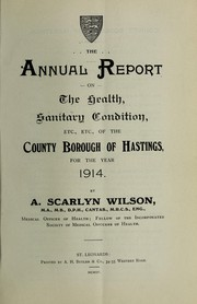 Cover of: [Report 1914]