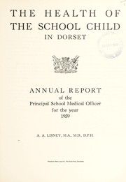 Cover of: [Report 1959]