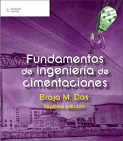 Cover of: Fundamentos de ingeniería de cimentaciones