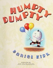 Cover of: Humpty Dumpty