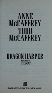 Cover of: Dragon harper: a new novel of Pern