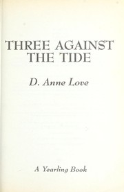 Cover of: Three against the tide