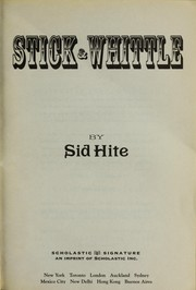 Cover of: Stick & Whittle