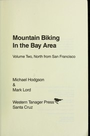 Cover of: Mountain biking in the Bay Area