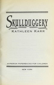 Cover of: Skullduggery