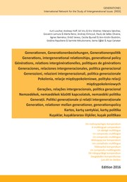 Cover of: Generations, intergenerational relationships, generational policy: A multilingual compendium