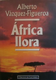Cover of: África llora