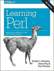 Cover of: Learning Perl: Making Easy Things Easy and Hard Things Possible