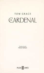 Cover of: El cardenal