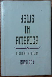 Cover of: Jews In America: A Short History