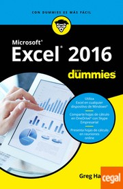 Cover of: Microsoft Excel 2016 para dummies