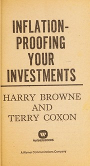 Cover of: Inflation-proofing your investments