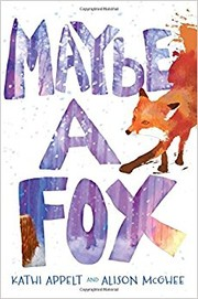 Cover of: Maybe a Fox