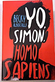 Cover of: Yo, Simon, homo sapiens