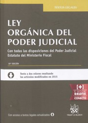 Cover of: Ley orgánica del poder judicial