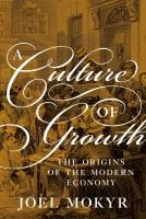 Cover of: A Culture of Growth