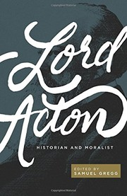 Cover of: Lord Acton