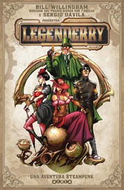 Cover of: Legenderry, una aventura steampunk