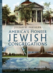 Cover of: America's Pioneer Jewish Congregations