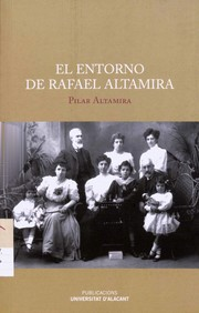 Cover of: El entorno de Rafael Altamira