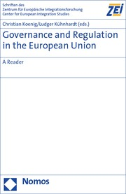 Cover of: Governance and Regulation in the European Union