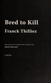 Cover of: Bred to kill