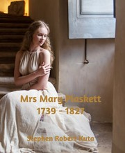 Cover of: Mrs Mary Plaskett (1739 - 1827)