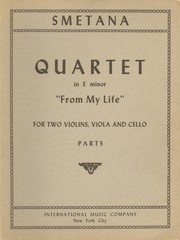Cover of: Quartet in E Minor