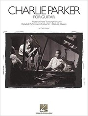 Cover of: Charlie Parker for Guitar