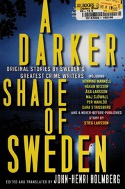 Cover of: A darker shade of Sweden