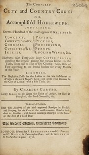 Cover of: The compleat city and country cook