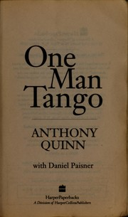 Cover of: One man tango