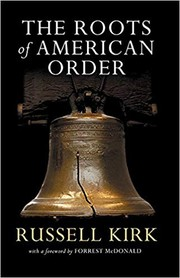 Cover of: The Roots of American Order