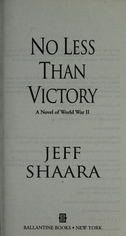 Cover of: No less than victory