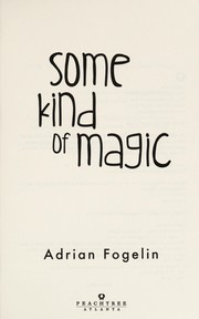 Cover of: Some kind of magic