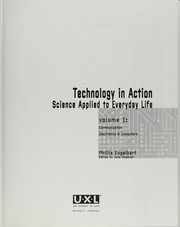 Cover of: Technology in action : science applied to everyday life