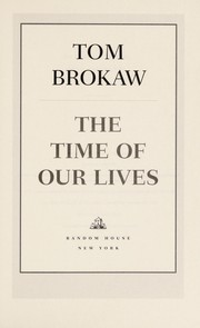 Cover of: The time of our lives