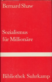 Cover of: Socialism for millionaires