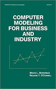 Cover of: Computer Modeling For Business And Industry