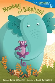 Cover of: Monkey and Elephant: Candlewick Sparks