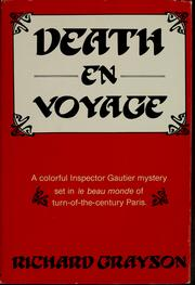 Cover of: Death en voyage
