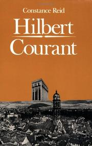 Cover of: Hilbert-Courant