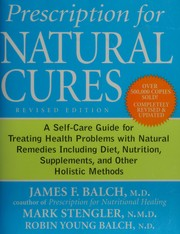 Cover of: Prescription for natural cures