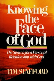 Cover of: Knowing the face of God