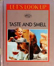Cover of: Taste and smell