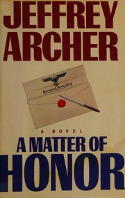 Cover of: A Matter of Honor