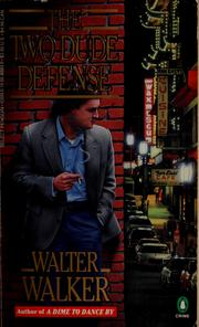 Cover of: The two dude defense