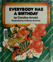 Cover of: Everybody has a birthday