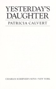 Cover of: Yesterday's daughter